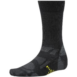 SmartWool Outdoor Sport Light Socks - Merino Wool, Crew (For Men and Women) in Black