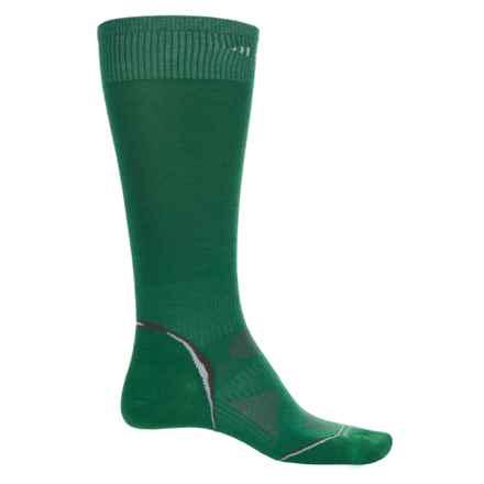 SmartWool Outdoor Sport Light Socks - Merino Wool, Crew (For Men and Women) in Grasshopper - Closeouts