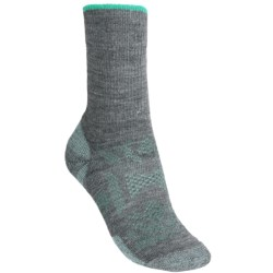 SmartWool Outdoor Sport Light Socks - Merino Wool, Crew (For Men and Women) in Medium Grey