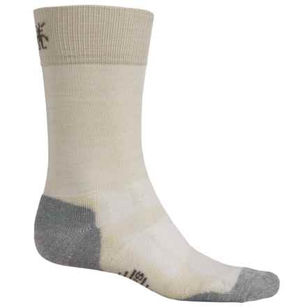 SmartWool Outdoor Sport Light Socks - Merino Wool, Crew (For Men and Women) in Natural Heather - Closeouts