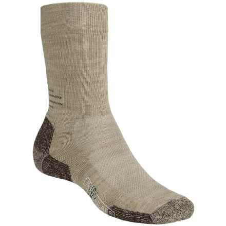 SmartWool Outdoor Sport Light Socks - Merino Wool, Crew (For Men and Women) in Oatmeal Heather - 2nds