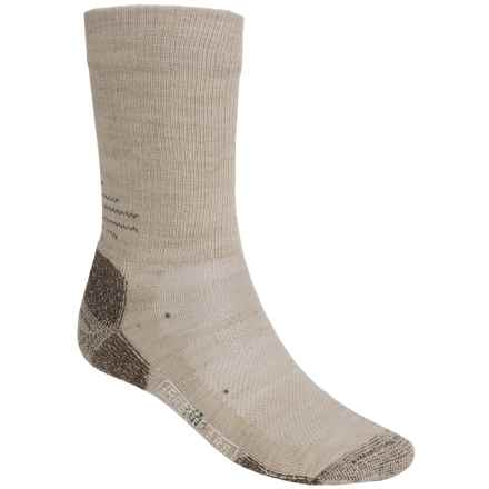 SmartWool Outdoor Sport Light Socks - Merino Wool, Crew (For Men and Women) in Oatmeal - 2nds