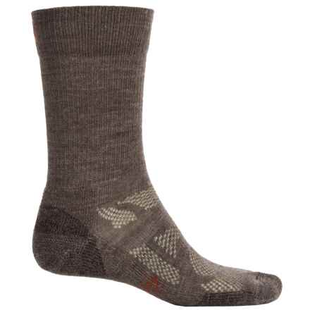 SmartWool Outdoor Sport Light Socks - Merino Wool, Crew (For Men and Women) in Taupe - Closeouts