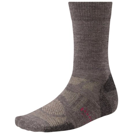 SmartWool Outdoor Sport Light Socks - Merino Wool, Crew (For Men and Women) in Taupe