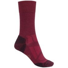 SmartWool Outdoor Sport Light Socks - Merino Wool, Crew (For Women) in Beet - Closeouts