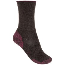 SmartWool Outdoor Sport Light Socks - Merino Wool, Crew (For Women) in Chocolate Heather - Closeouts