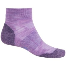 SmartWool Outdoor Sport Light Socks - Merino Wool, Crew (For Women) in Lilac Heather - Closeouts