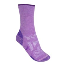 SmartWool Outdoor Sport Light Socks - Merino Wool, Crew (For Women) in Lilac - 2nds