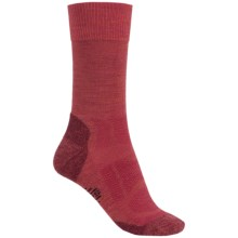 SmartWool Outdoor Sport Light Socks - Merino Wool, Crew (For Women) in Lipstick - Closeouts