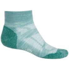 SmartWool Outdoor Sport Light Socks - Merino Wool, Crew (For Women) in Mineral Heather - Closeouts