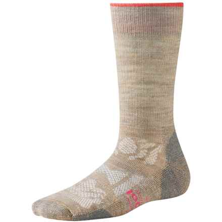 SmartWool Outdoor Sport Light Socks - Merino Wool, Crew (For Women) in Oatmeal - 2nds