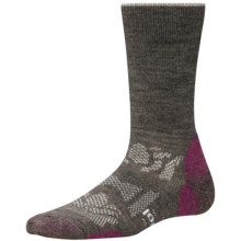 SmartWool Outdoor Sport Light Socks - Merino Wool, Crew (For Women) in Taupe - 2nds