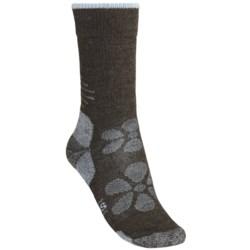 SmartWool Outdoor Sport Light Socks - Merino Wool, Lightweight, Crew (For Women) in Silver