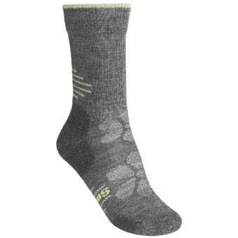 SmartWool Outdoor Sport Light Socks - Merino Wool, Lightweight, Crew (For Women) in Medium Grey