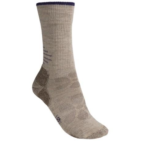 SmartWool Outdoor Sport Light Socks - Merino Wool, Lightweight, Crew (For Women) in Oatmeal Heather