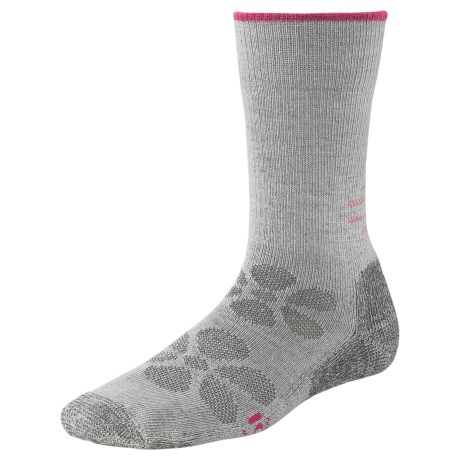 SmartWool Outdoor Sport Light Socks - Merino Wool, Lightweight, Crew (For Women) in Silver