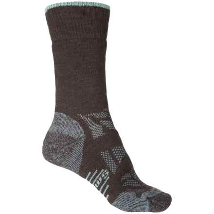 SmartWool Outdoor Sport Medium Socks - Merino Wool, Crew (For Women) in Chestnut - Closeouts