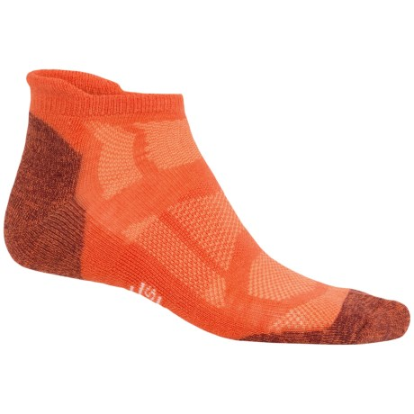 SmartWool Outdoor Sport Micro Socks - Merino Wool, Lightweight, Below the Ankle (For Men and Women) in Bright Orange