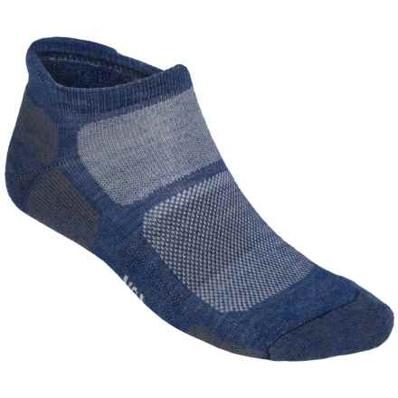 SmartWool Outdoor Sport Micro Socks - Merino Wool, Lightweight, Below the Ankle (For Men and Women) in Cadet Blue - 2nds