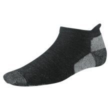 SmartWool Outdoor Sport Micro Socks - Merino Wool, Lightweight, Below the Ankle (For Men and Women) in Charcoal - 2nds