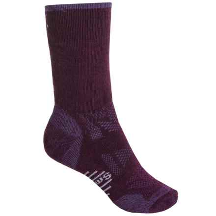 SmartWool Outdoor Sport Midweight Socks - Merino Wool, Crew (For Women) in Aubergine - 2nds