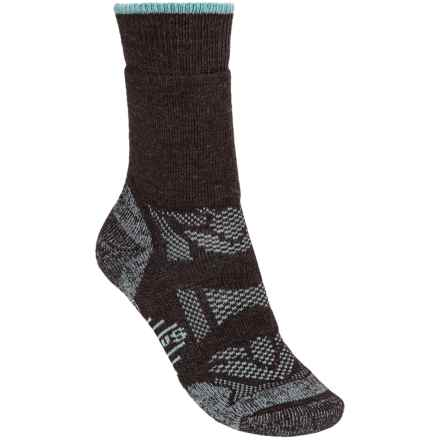 SmartWool Outdoor Sport Midweight Socks - Merino Wool, Crew (For Women) in Chestnut - 2nds