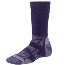 SmartWool Outdoor Sport Midweight Socks - Merino Wool, Crew (For Women) in Imperial Purple - 2nds