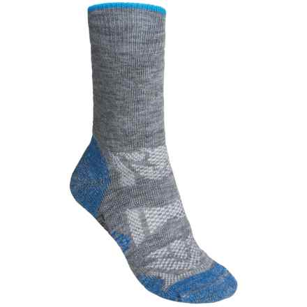 SmartWool Outdoor Sport Midweight Socks - Merino Wool, Crew (For Women) in Light Grey - 2nds