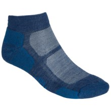 SmartWool Outdoor Sport Mini Socks - Lightweight, Merino Wool (For Men and Women) in Cadet Blue - 2nds