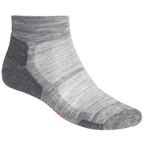 SmartWool Outdoor Sport Mini Socks - Lightweight, Merino Wool (For Men and Women) in Light Grey