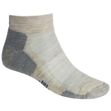 SmartWool Outdoor Sport Mini Socks - Lightweight, Merino Wool (For Men and Women) in Oatmeal - 2nds