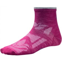 SmartWool Outdoor Sport Mini Socks - Merino Wool, Ankle (For Women) in Berry - 2nds