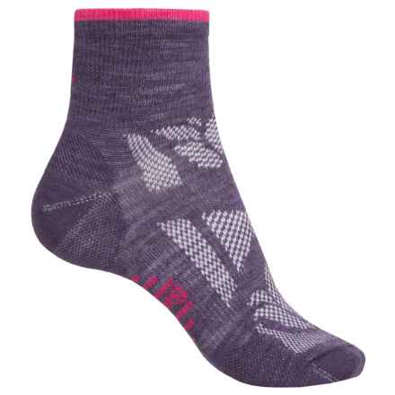 SmartWool Outdoor Sport Mini Socks - Merino Wool, Ankle (For Women) in Desert Purple - 2nds