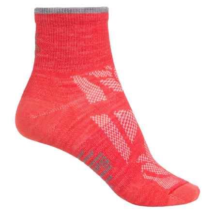 SmartWool Outdoor Sport Mini Socks - Merino Wool, Ankle (For Women) in Hibiscus - 2nds