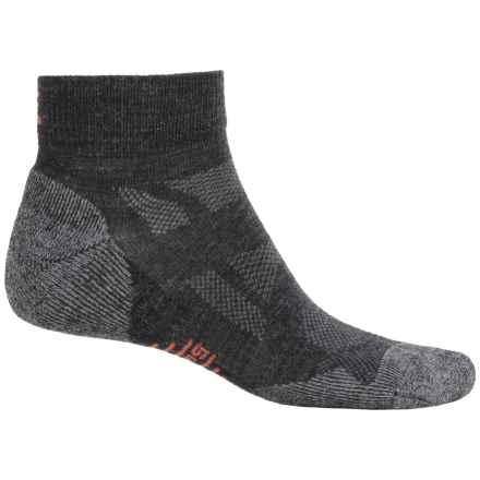 SmartWool Outdoor Sport Socks - Merino Wool, Ankle (For Men and Women) in Charcoal - 2nds