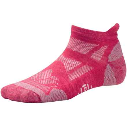 SmartWool Outdoor Sport Socks - Merino Wool, Ankle (For Women) in Punch - 2nds