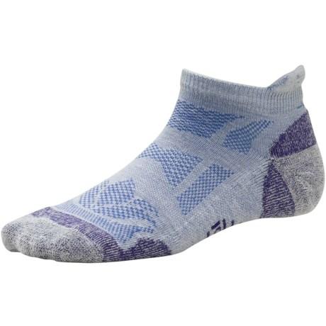 SmartWool Outdoor Sport Socks - Merino Wool, Ankle (For Women) in Silver Gray Heather