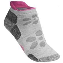 SmartWool Outdoor Sport Socks - Merino Wool, Below the Ankle (For Women) in Silver - 2nds