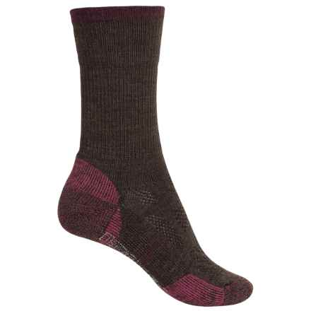 SmartWool Outdoor Sport Socks - Merino Wool, Crew (For Women) in Chocolate Heather - 2nds