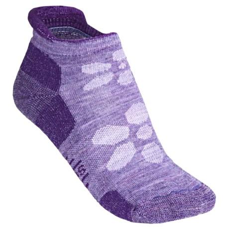 SmartWool Outdoor Sport Socks - Merino Wool, Lightweight, Below Ankle (For Women) in Lavender