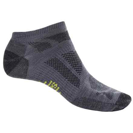 SmartWool Outdoor Sport Ultra Light Micro Socks - Merino Wool (For Men and Women) in Graphite - 2nds