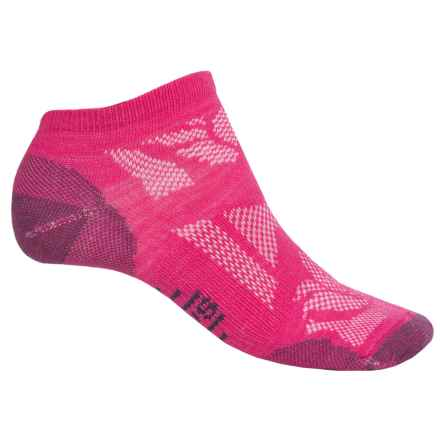 SmartWool Outdoor Sport Ultralight Micro Socks - Merino Wool, Ankle (For Women) in Bright Pink - 2nds