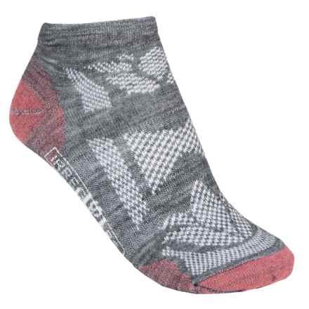 SmartWool Outdoor Sport Ultralight Micro Socks - Merino Wool, Ankle (For Women) in Medium Grey - 2nds
