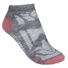 SmartWool Outdoor Sport Ultralight Micro Socks - Merino Wool (For Women) in Medium Grey - 2nds