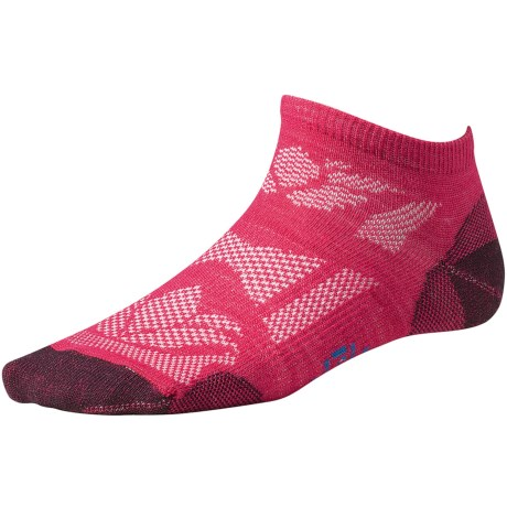 SmartWool Outdoor Sport Ultralight Micro Socks - Merino Wool (For Women) in Purple Dahlia