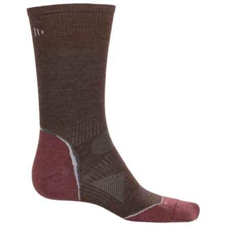 SmartWool Outdoor Sport Ultralight Socks - Merino Wool, Crew (For Men and Women) in Espresso - Closeouts