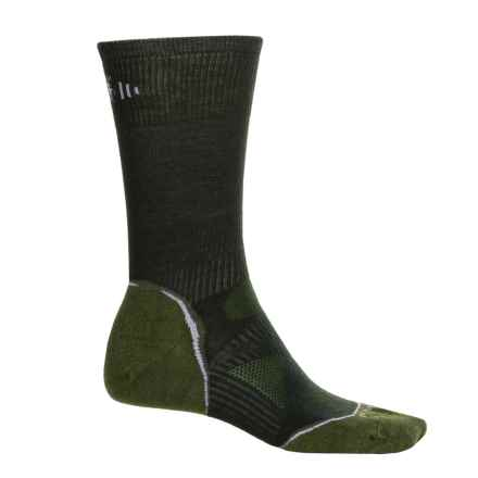 SmartWool Outdoor Sport Ultralight Socks - Merino Wool, Crew (For Men and Women) in Forest - Closeouts