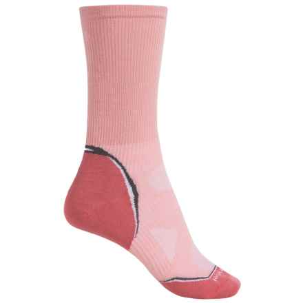 SmartWool Outdoor Sport Ultralight Socks - Merino Wool, Crew (For Men and Women) in Peach - Closeouts