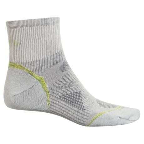 SmartWool Outdoor Sport Ultralight Socks - Merino Wool, Crew (For Men and Women) in Silver