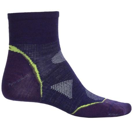 SmartWool Outdoor Ultralight Mini Socks - Merino Wool, Ankle (For Women) in Imperial Purple